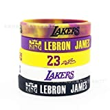 ZHYF Personality Basketball Sports Silicone Bracelet Wristband - 5 Pieces