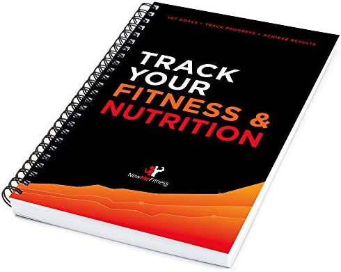 Workout/Fitness and/or Nutrition Journal/Planners - Designed by Experts, w/Illustrations : Sturdy Binding, Thick Pages & Laminated, Protected Cover 3