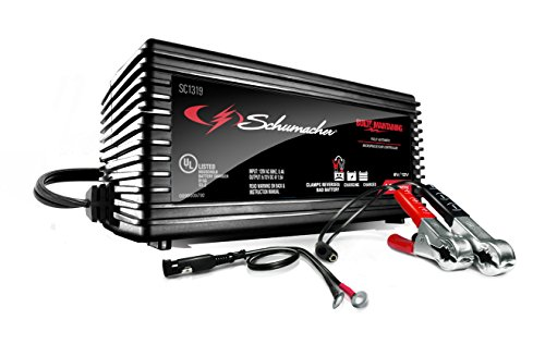 Schumacher SC1319 1.5A 6V/12V Fully Automatic Battery Maintainer