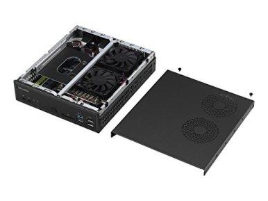 Shuttle-XPC-Slim-DH110-Mini-Barebone-PC-Intel-H110-LGA-1151-KabylakeSkylake-Heatpipe-Cooling-Module-No-CPU-No-Ram-No-HDDSSD-No-OS