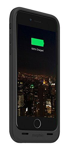 mophie juice pack plus - Protective Mobile Battery Pack Case for Apple iPhone 6/ iPhone 6s - Black