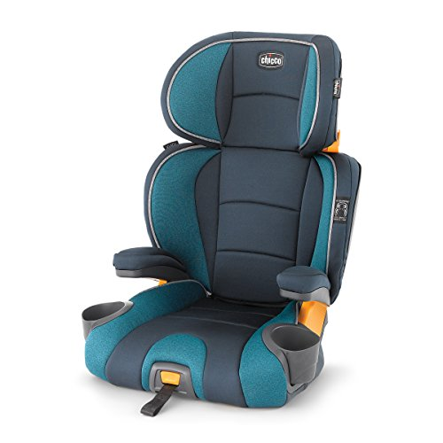 Chicco KidFit 2-in-1 Belt-Positioning Booster Car Seat, Monaco
