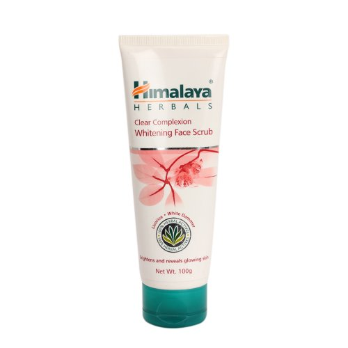 41mVtZXL84L - Himalaya Herbals Clear Complexion Whitening Face Scrub, 100g