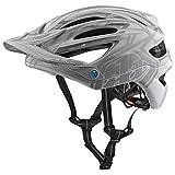 2018 Troy Lee Designs A2 MIPS Pinstripe 2 Bicycle Helmet-White-XL/2XL