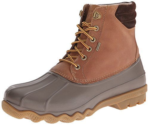 Sperry Mens Avenue Duck Boots, Tan/Brown, 12