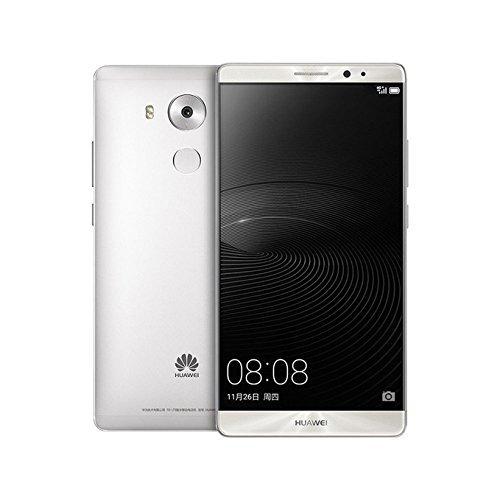 Huawei Mate 8 32GB 6-Inch 4G LTE Factory Unlocked Smartphone - International Stock No Warranty (Silver)
