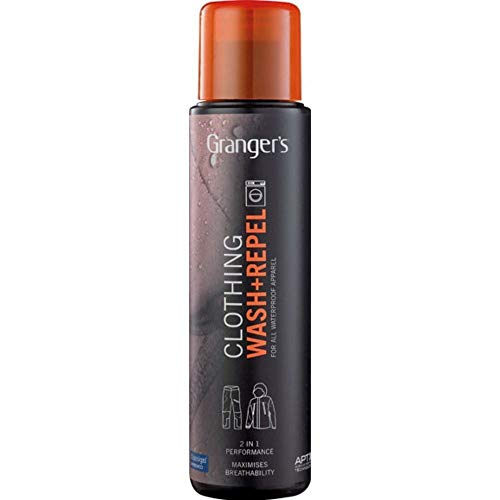 Grangers Clothing Wash + Repel / Clean and Waterproof Outerwear in 1 Wash Cycle / 10oz