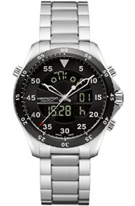 Hamilton Khaki Aviation Flight Timer Quartz Men's Quartz Watch H64554131