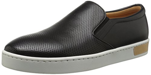 41mlqHHKIkL Twin-gore slip-on sneaker with perforated toebox and padded collar Logo patch at heel of sole