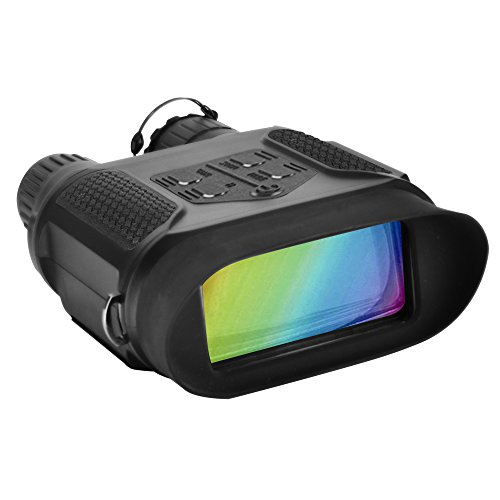 SOLOMARK Night Vision Binoculars Hunting Binoculars-Digital Infrared Night Vision Hunting Binocular with Large Viewing Screen Can Take Day or Night IR Photos & Video from 400m/1300ft