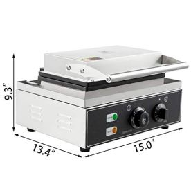 VEVOR-110V-Commercial-Sandwich-Machine-Triangular-1550W-Electric-Sandwich-Grill-Oven-4-Slice-50-300-Sandwich-Maker-58x58-Inch-Grid-Size-Non-Stick-Coated-Plates-Commercial-Kitchen-Equipment