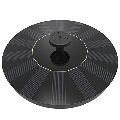 Solatec Solar Fountain, Black