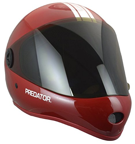 Predator Certified Performance Downhill Helmet, DH6-Red