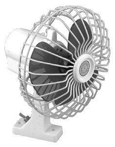 SeaChoice 6 inch Oscillating 12V Fan by SEACHOICE