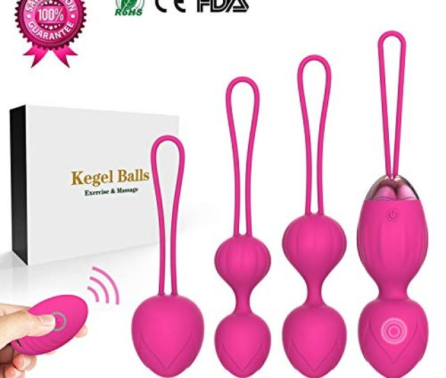 Amazon Com Silicone Kegel Balls For Beginners Advanced For Pelvic Floor Exercises Tightening Y Love  Kegel Exercise Weights Massage Ball Ben