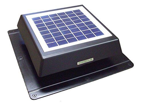Rand Solar Powered Attic Fan-8 Watt-W...