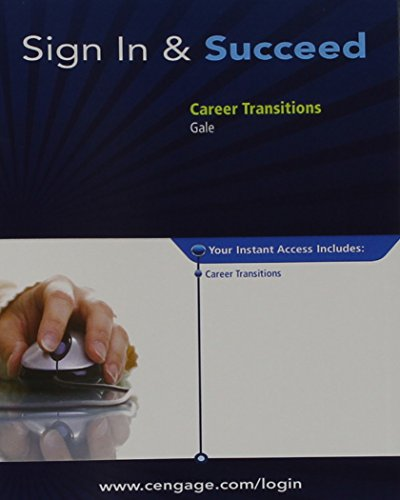 Career Transitions, 1 term (6 months) Printed Access Card
