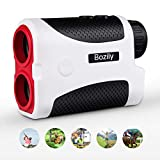 Bozily Golf Rangefinder, 6X Laser Range Finder 900 Yards, Flag-Lock, Slope Tech, 4 Scan Mode, Linear & Vertical Distance, Angle & Speed Measurement, Fog Resistant - Tournament Legal Golf Rangefinder