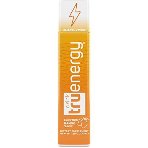 Tru Energy Drink Shot - Natural Keto Energy Drink for 5hr of Extra Strength Clean Energy (4 Shots)