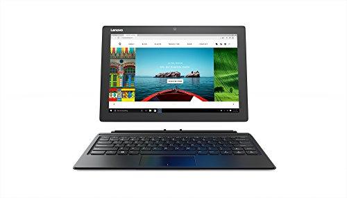 Lenovo IdeaPad Miix 510, 12.2-Inch Windows Laptop, 2 in 1 Laptop, (Intel Core i3, 2.3 GHz, 4 GB DDR4 RAM, 128 GB, Windows 10), Black, 80U10068US