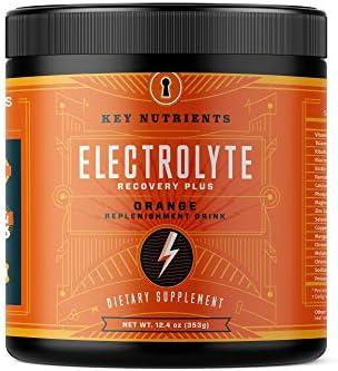 Electrolyte Powder, Orange Hydration Supplement: 90 Servings, Carb, Calorie & Sugar Free, Delicious Keto Replenishment Drink Mix. 6 Key Electrolytes - Magnesium, Potassium, Calcium & More. 3