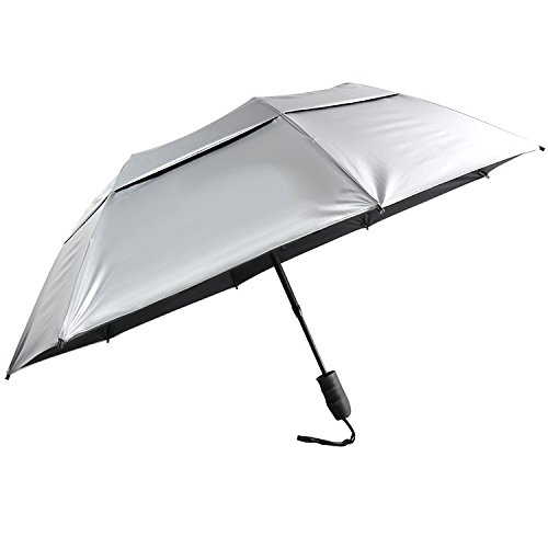 Sun Tek 46' UV Protection Vented Canopy Umbrella with Auto Open Telescopic Fiberglass Shaft