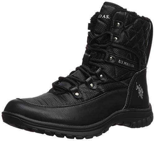 U.S. Polo Assn..(Women's Women's Cascade Fashion Boot, Black, 9 Medium US