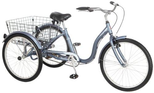 Schwinn Meridian Adult Tricycle, 24-Inch...