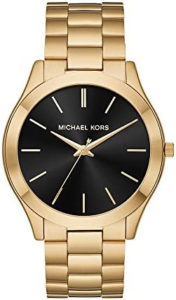 Michael Kors Men's Slim Runway Stainless Steel Quartz Watch