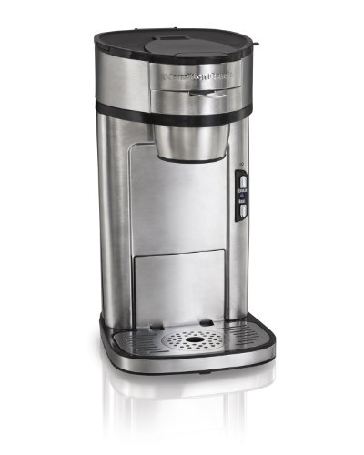 Hamilton Beach 49981A Coffee Maker Single Serve Stainless Steel