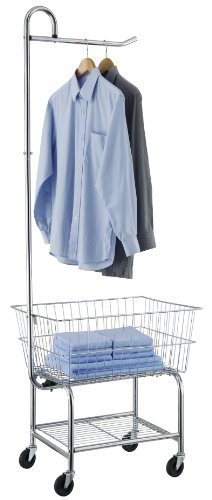 Organize It All 17167W-1 Laundry Butler, Chrome