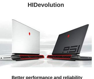 HIDevolution Alienware Area-51M 17.3' FHD 144Hz Gaming Laptop | White | 3.6 GHz i7-9700K, RTX 2070, 16GB 2666MHz RAM, PCIe 128GB SSD + 1TB SSHD | Performance Upgrades & Warranty