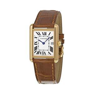 Cartier Men's W1529756 Tank Louis 18kt Yellow Gold Watch