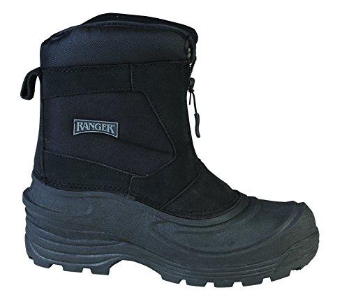 Ranger Flintlock III Men's Leather Thermolite Winter Boots, Black (RP118)