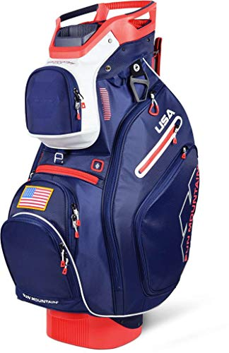 Sun Mountain Golf 2019 C-130 Cart Bag NAVY-WHITE-RED (Navy-White-Red)