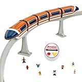 Deluxe Upgraded Remote Controlled Monorail Play Set - Disneyland Theme Park Exclusive - Limited Availability