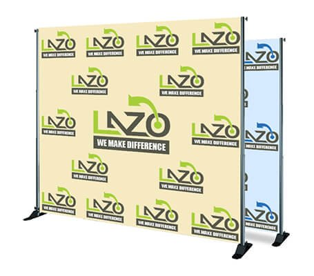 Custom Step and Repeat Banner (Free Design By Bannerbuzz) (10 X 10)