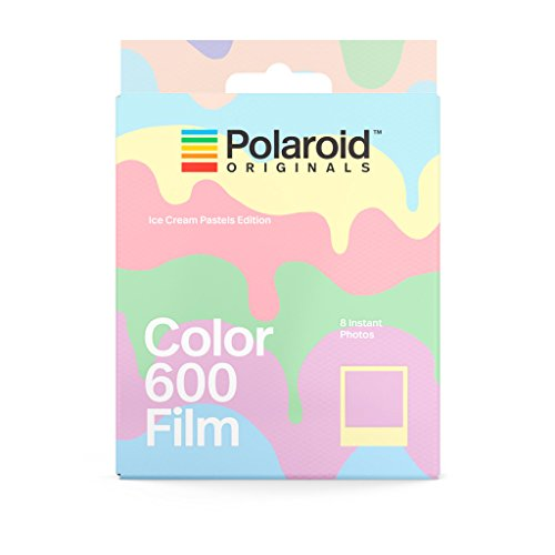 Polaroid Originals 4847 Instant Color Film for 600 – Ice Cream Edition, Pastel
