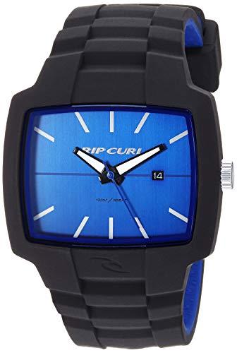 Rip Curl Men's Quartz Sport Watch with Silicone Strap, Black, 25.3 (Model: A2749BKB1SZ)