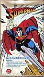 Superman Back To School Pack Polybagged 2 Comic Books 1 Locker Poster 1 Pencil 1 Notepad
