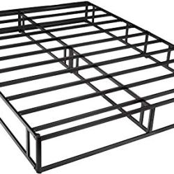 AmazonBasics Mattress Foundation / Smart Box Spring for King Size Bed, Tool-Free Easy Assembly – 9-Inch, King