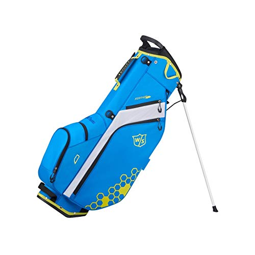 Wilson Staff Feather Carry Golf Bag, Royal