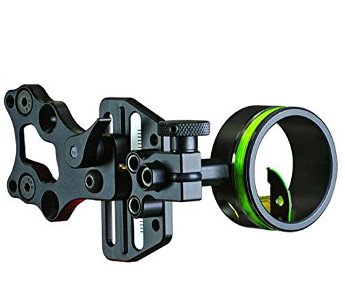 HHA Optimizer Lite Cadet 1 Pin Sight, Black.019-Inch, Right Hand