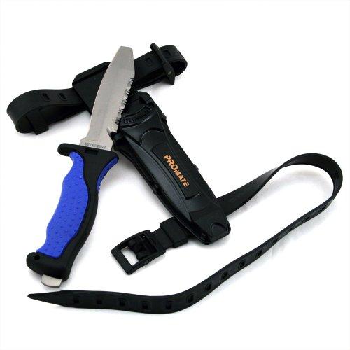 Promate Blunt Tip Titanium Dive Knife