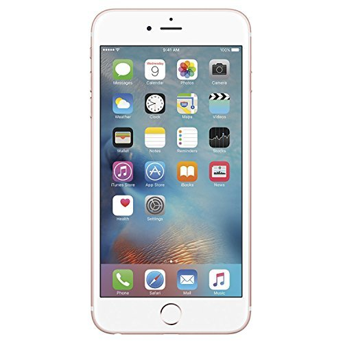 Apple iPhone 6S, 16GB, Rose Gold – For AT&T / T-Mobile (Renewed)