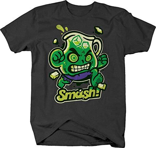 The Incredible Comic Kool-Aid Man Smash Oh Yeah Novelty Space Nerd Tshirt Men Large Graphite