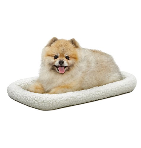 MidWest Deluxe Bolster Pet Bed for Dogs & Cats 1