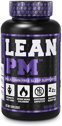 Lean PM Melatonin Free Fat Burner & Sleep Aid - Night Time Sleep Support, Weight Loss Supplement & Appetite Suppressant for Men and Women - 60 Caffeine Free, Keto Friendly Diet Pills 3