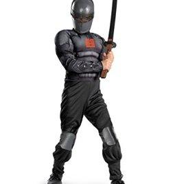 Disguise Boys GI Joe Movie Snake Eyes Light Up Deluxe Muscle Costume