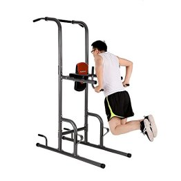 d1ff4305329 TOMSHOO Multi Station Power Tower Pull Up Stand Rack Push Up Knee ...